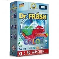 """Dr.Fräsh БЕСФОСФАТНЫЙ Концентрированный  стиральный порошок """"COLOR""""  2,7кг 60ст+ мерный стакан"""