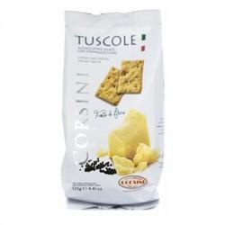 """Corsini крекеры """"Тусколе"""" с сыром и перцем, 125 гр"""