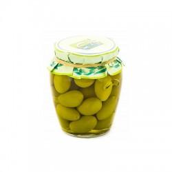 "GALANTINO оливки зеленые ""Белла Чериньола"", 330 гр / 580 мл"