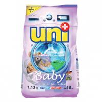 """UNIPLUS Концентрированный  стиральный порошок """" Baby""""  18 стирок 1,12 кг"""