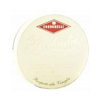 CONDORELLI Нуга в ванильной глазури в круглой коробочке, 150 гр