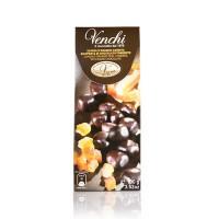 Venchi цукаты из цедры апельсина в темном шоколаде, 100 гр