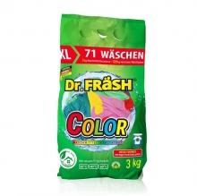 """Dr.Frash Бесфосфатный концентрированный стиральный порошок """"COLOR"""" 3кг 71 стирка"""