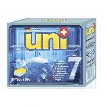 """UNIPLUS Чистящее средство для посуды (таблетки) """"7 в 1"""" для посудомоечных машин 36шт.х18г"""