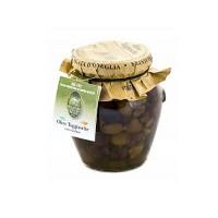 Санта Агата оливки «Таджаски» б/к в олив.масле Э/В 270 г