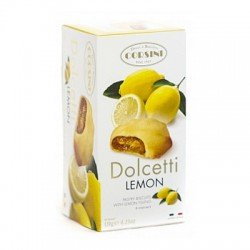 """Corsini печенье """"Дольчетти"""" с лимоном, 120 гр"""