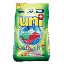 """UNIPLUS Концентрированный  стиральный порошок """"COLOR""""  18 стирок 1,12 кг"""